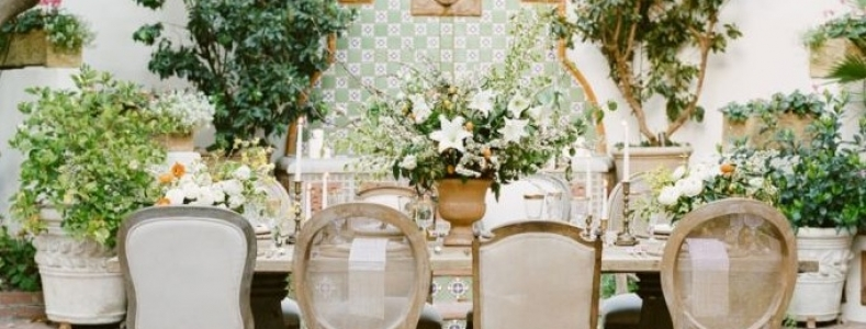 Tendencias para decorar bodas en 2018